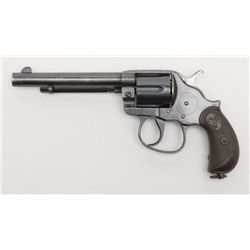 "Colt Model 1902 Philippine Constabulary DA revolver, .45 cal., 6"" barrel, old re-blue finish, chec"