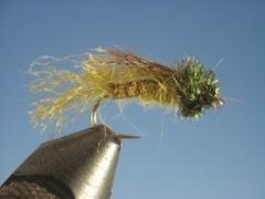 Caddis Emerger Olive - The Trout Spot