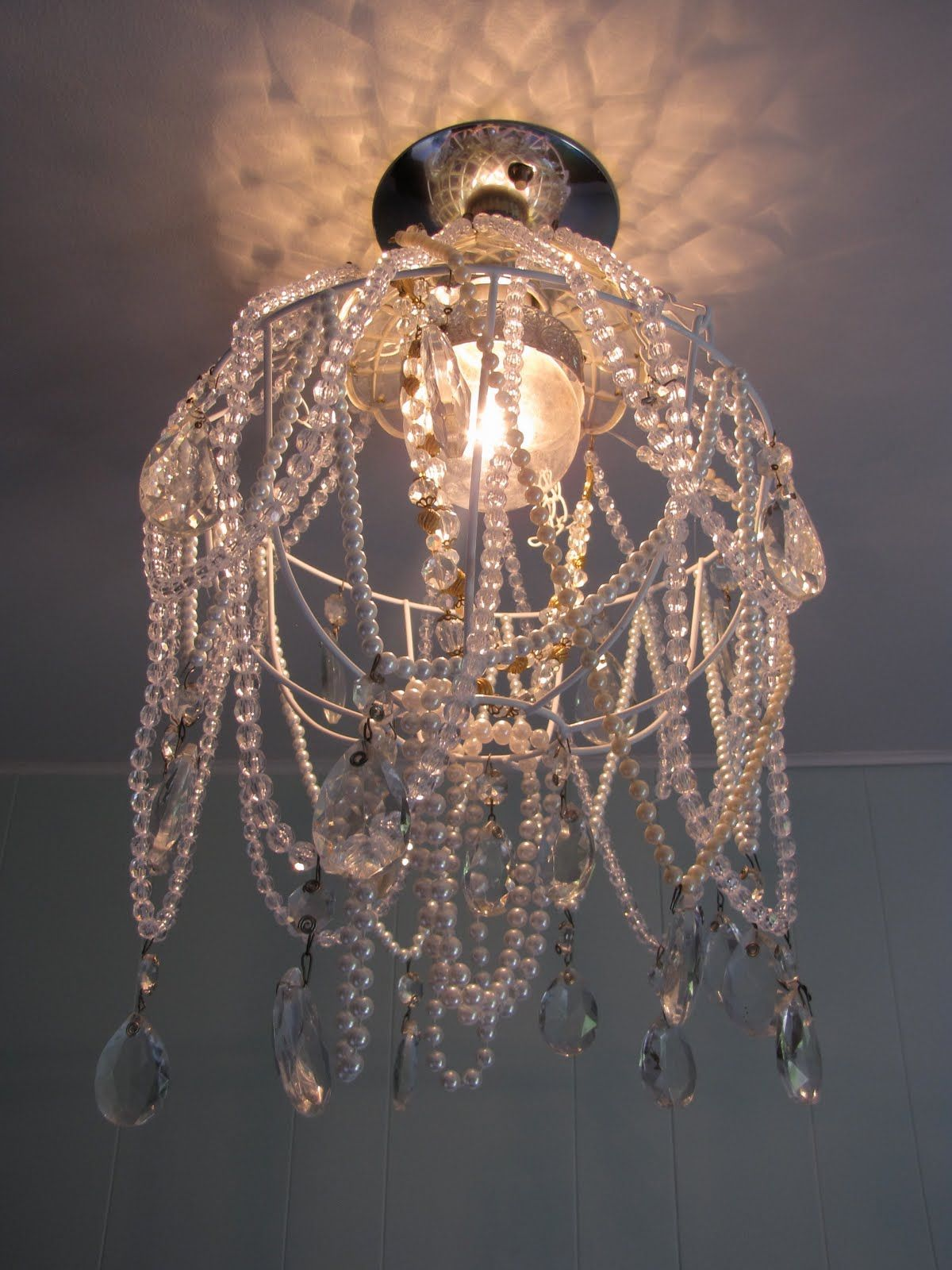Make your own chandelier home decorating ideas for for How to make your own chandelier