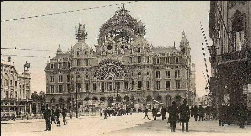 Centraal Station Antwerpen Centraal Station Belgie