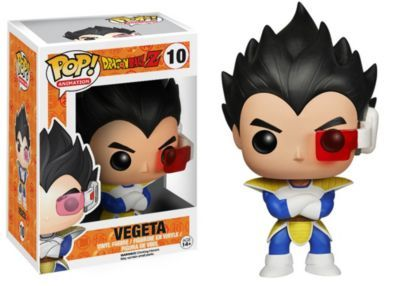 Funko Dragonball Z Pop Anime Vinyl Collectors Set Super Saiyan