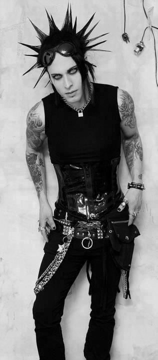 Pin By J J On Men Goth Guys Gothic Fashion Goth
