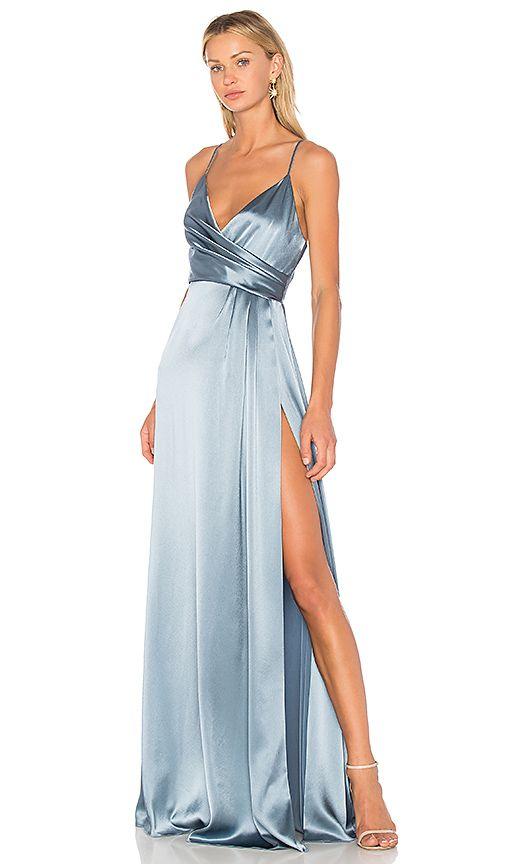 6ba508bf1f JILL JILL STUART Wrap Gown ( 440) ❤ liked on Polyvore featuring dresses