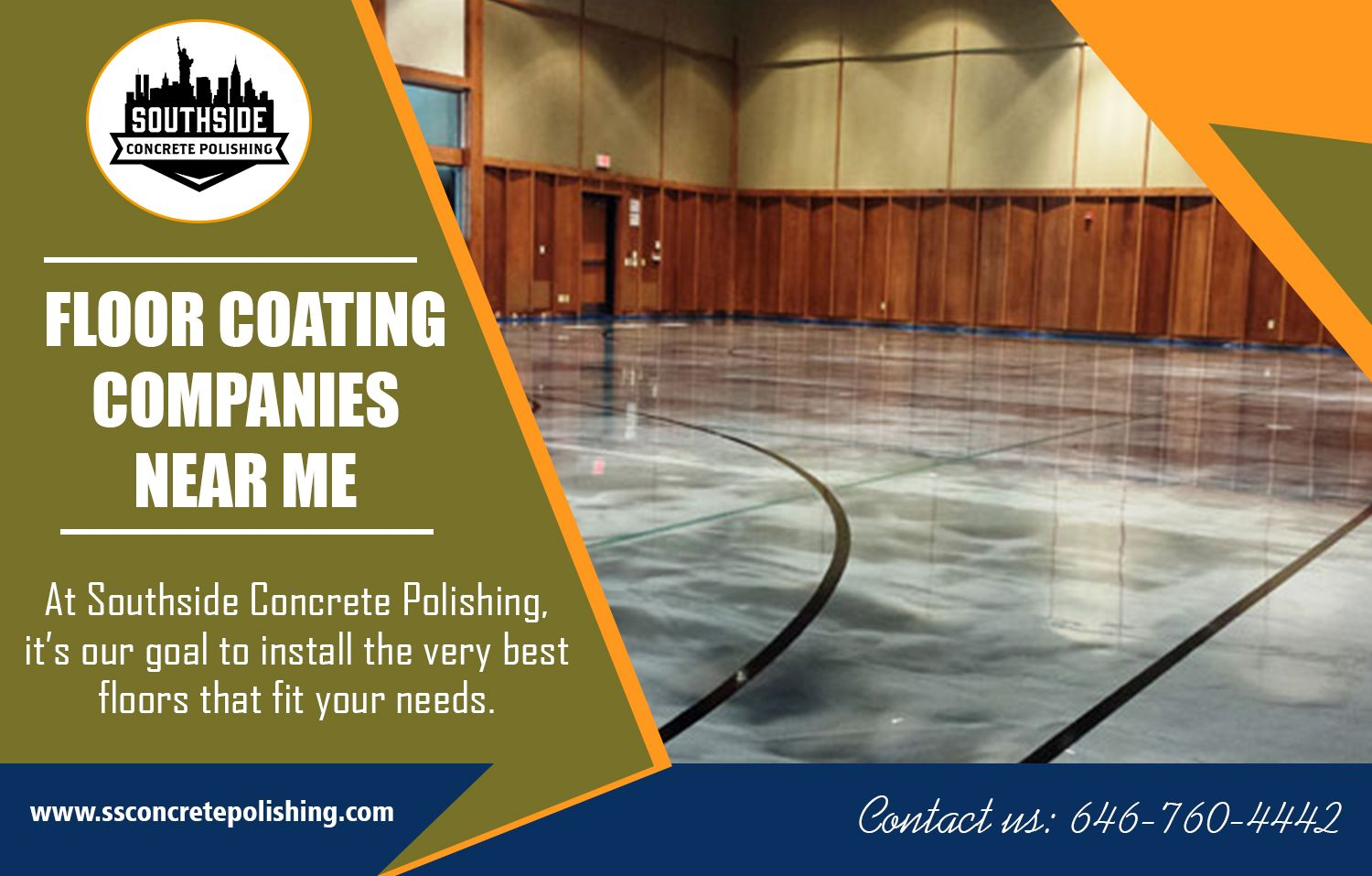 Concrete Contractor NYC Floor coating, Concrete floor