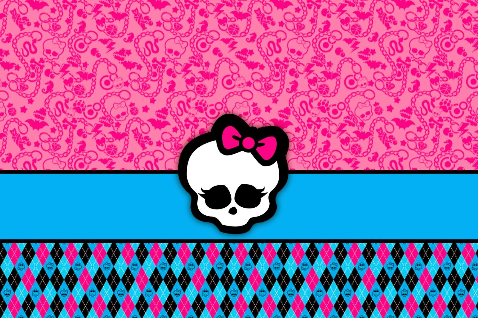 Monster High: Invitations and Party Free Printables. | oaks party ...