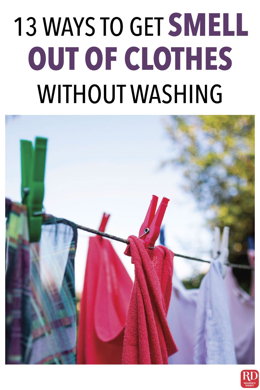 how to get musty smell out of clothes without washing
