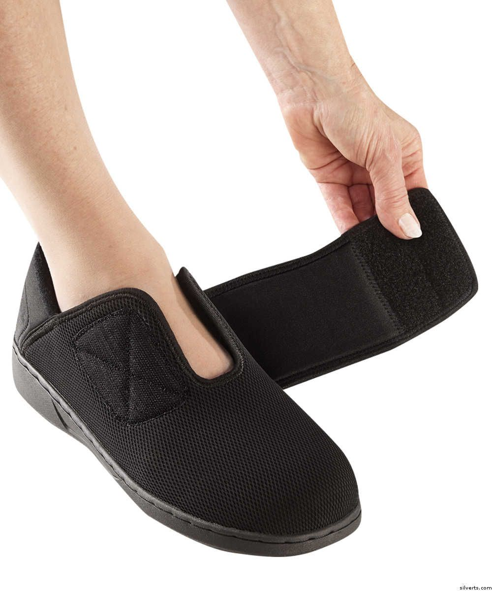 Extra Wide Comfort Steps Shoes For Women Zapatillas Zapatos