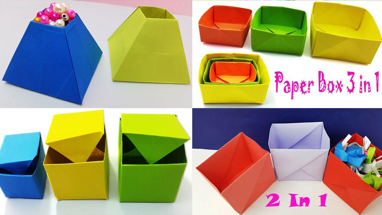 Origami Gift Box - Page 1 - Paper Kawaii | 720x1280