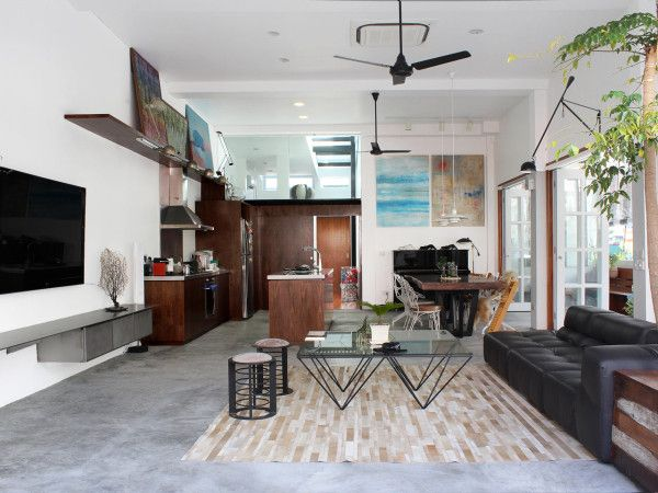 A 60 Year Old Terrace House Gets Renovation