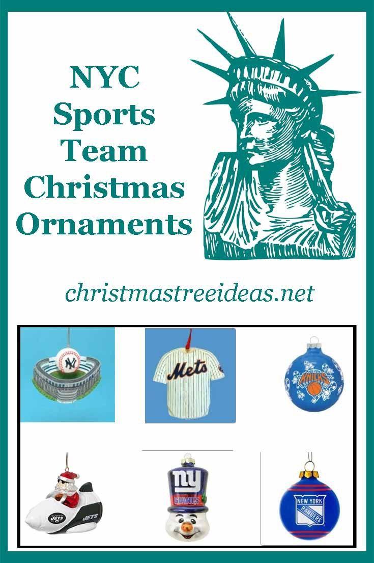 Sports christmas ornaments - New York City Sports Teams Christmas Ornaments