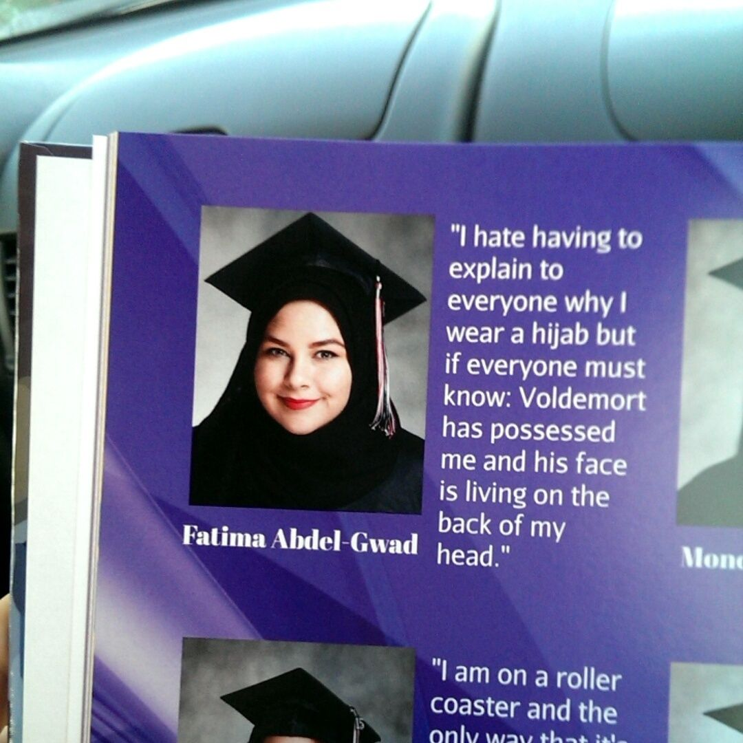 Senior Quotes For Girls These Teens Are Fighting Antimuslim Stereotypes One Yearbook