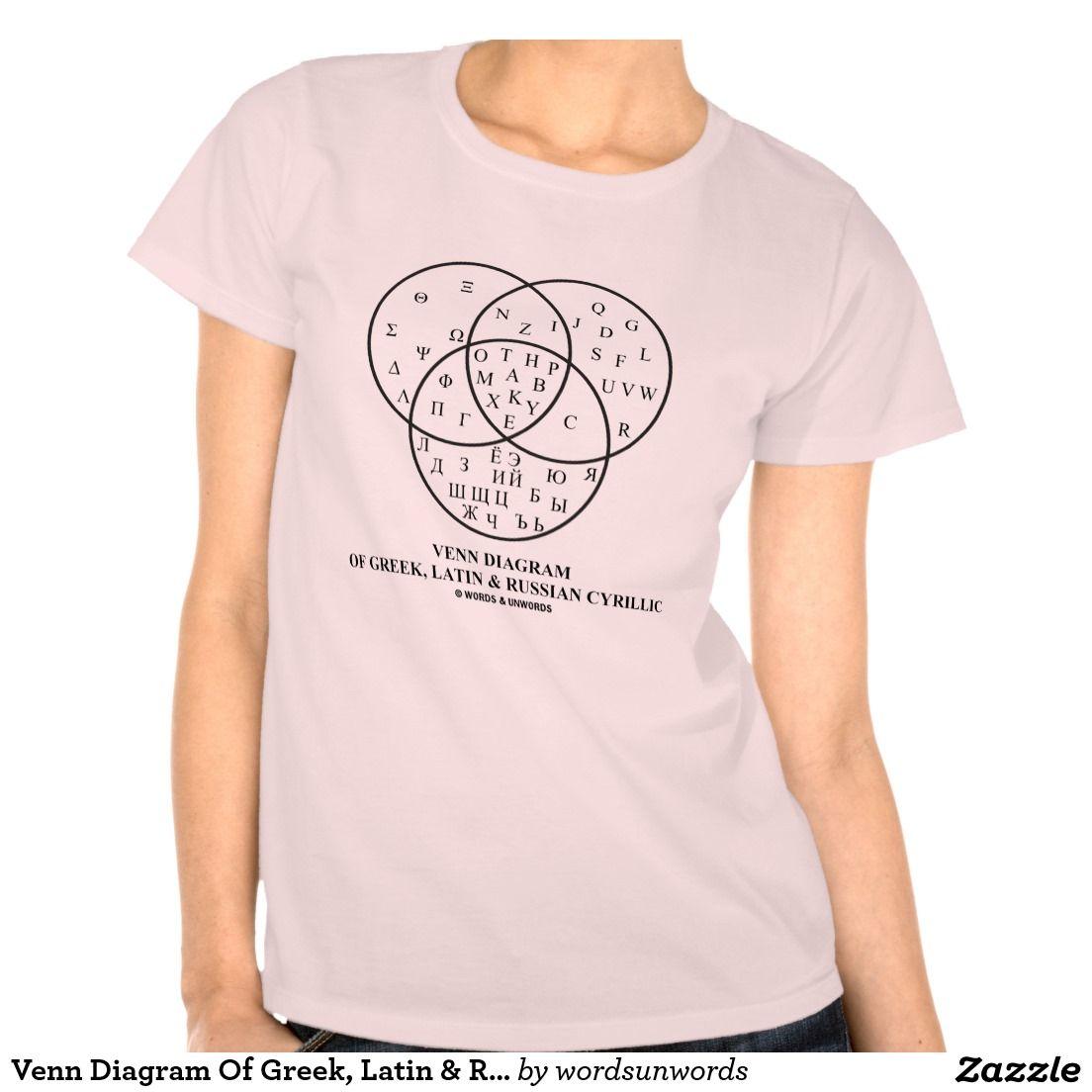 Venn diagram of greek latin russian cyrillic tees math venn diagram of greek latin russian cyrillic tees math geometry venndiagram graphic t shirtsvenn pooptronica