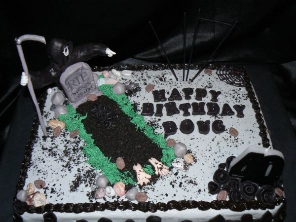 Grim Reaper Cake Ideas Over The Hill Cakes Cake Over