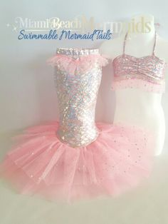 Toddler Tail Costume by Miami Beach Mermaids.com