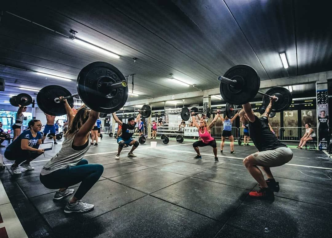 Neoflex Premium Gym Tiles For The Thorus Flag Series At Crossfit Sept Deniers In Toulouse France Gym Crossfit Toulouse