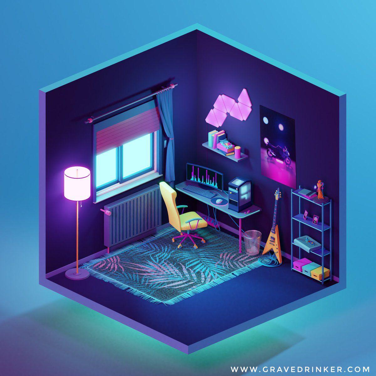 Gravedrinker on in 2020 Game room design, Futuristic