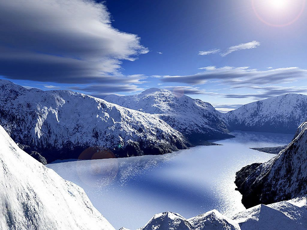 Snow Covered Mountains Nature And Landscapes Wallpapers Landscape Wallpaper Landscape Scenery