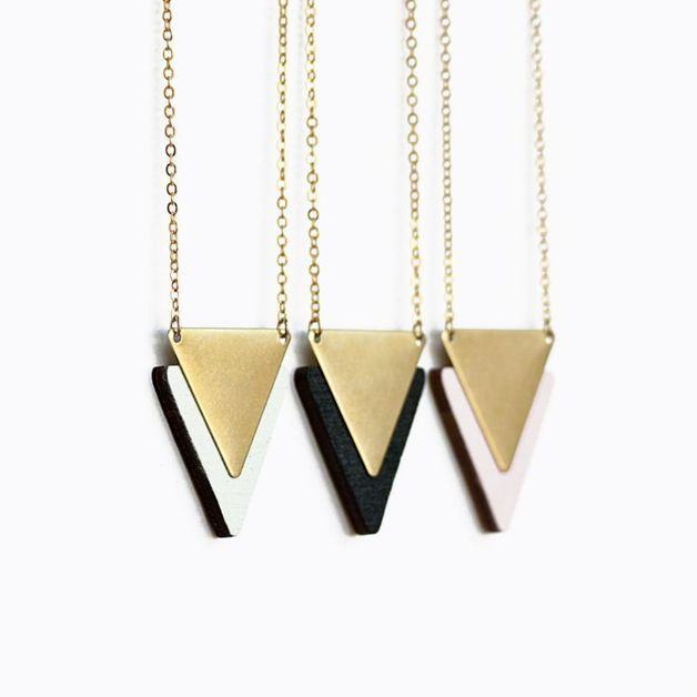 Wooden Necklaces – Subjekt – a unique product by Brownbrown on DaWanda