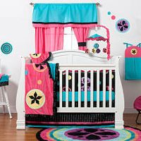 One Grace Place - Magical Michayla's 8-Piece Crib Bedding Set