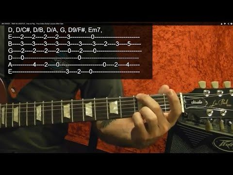 Jim Croce Time In A Bottle Guitar Lesson Youtube Guitar