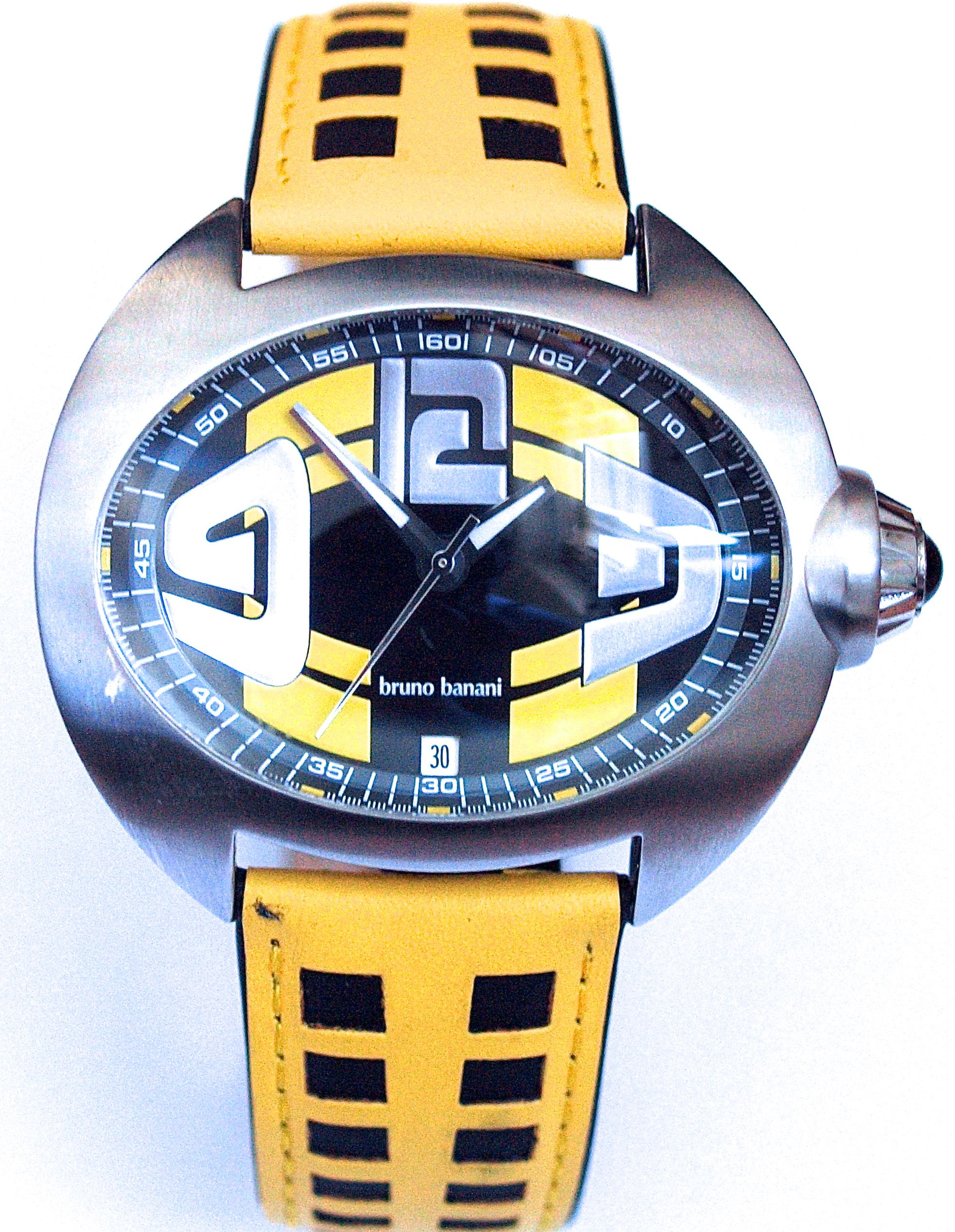 watch versace deal style watches a personality pin strong sporty the with black has v race