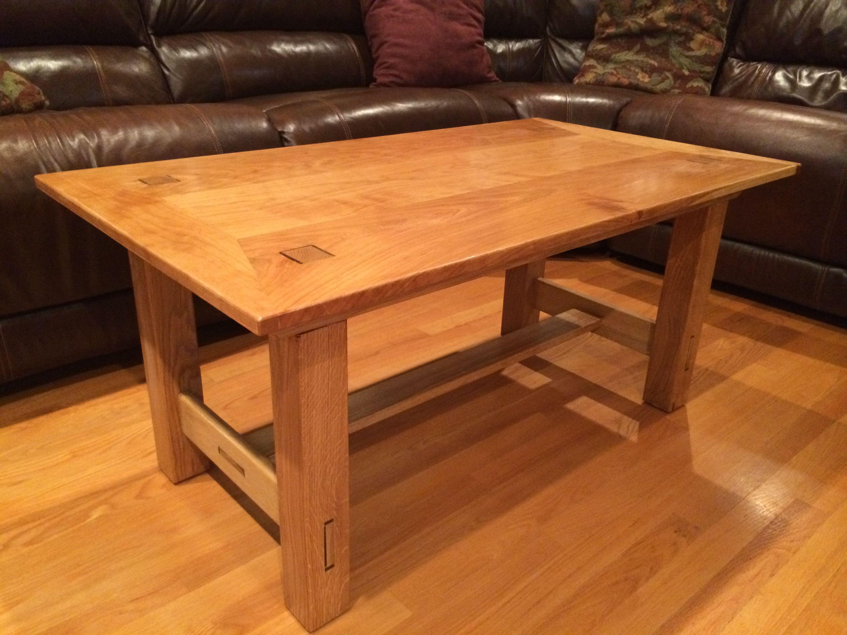 Coffee Table Cherry Oak Coffee Table Table Decor