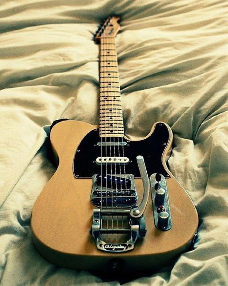 Nothing like a Nashville tele with all the trimmings is