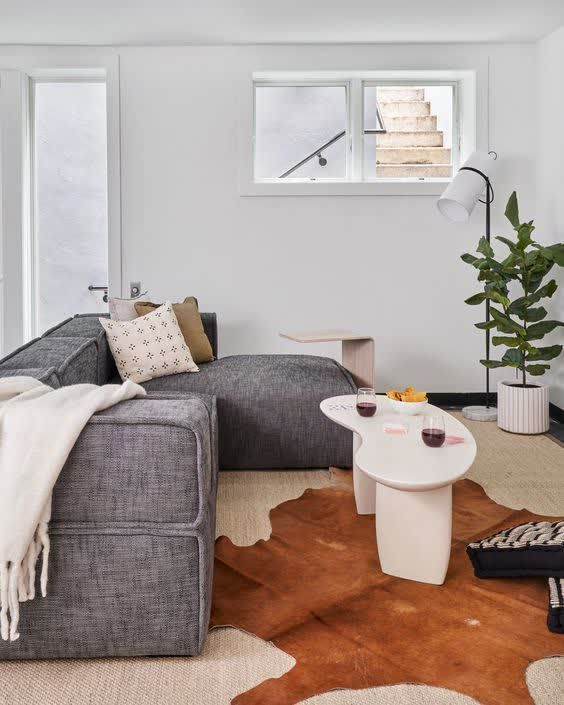 Cozy New York apartment living room interior #sponsored ...
