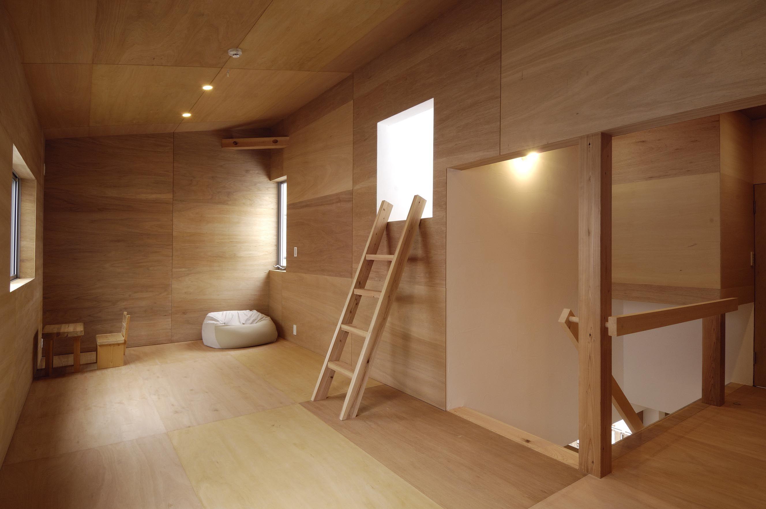 ラワン合板の仕上げ 日本のインテリアデザイン ラワン 和のインテリア