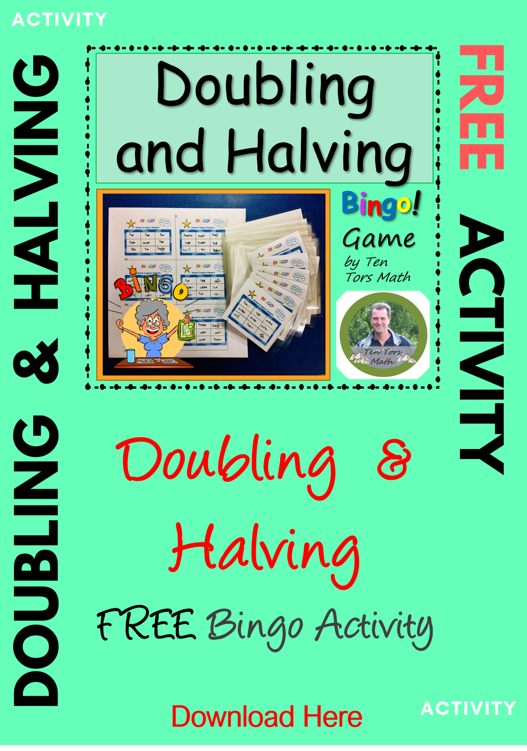 Doubling And Halving Game