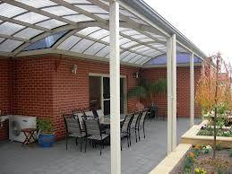 Polycarbonate Roofing Bullnose Verandah Google Search Curved Patio Rooftop Design Deck Garden