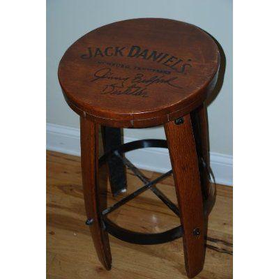 Jack Daniel S Whiskey Barrel Bar Jack Daniels Bar Stool 28 Tall
