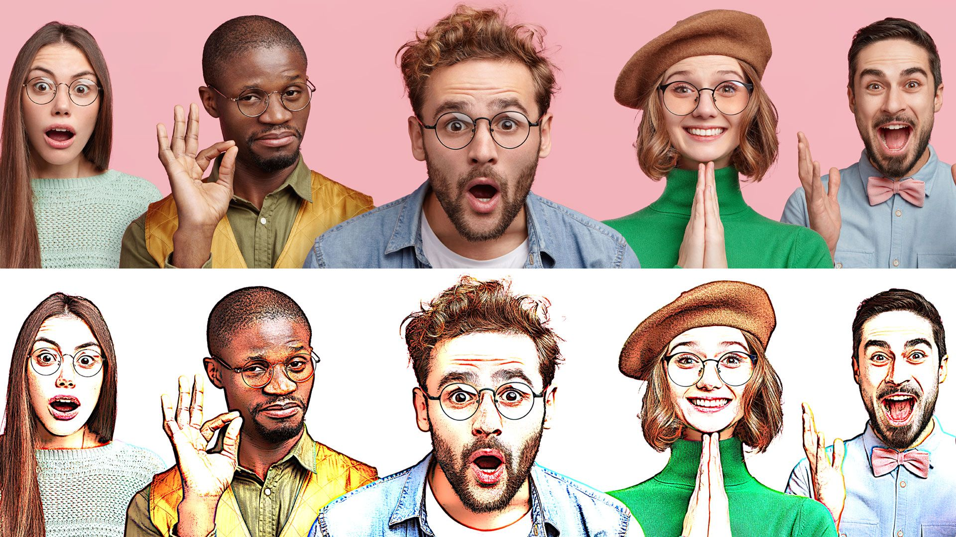 Turn Photo Into Comic Book Effect In Photoshop Tutorial Cartoon In Photoshop Photoshop Tutorial Make A Cartoon Photoshop