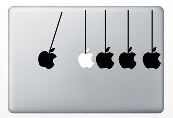 Macbook Funny Humor Decal Sticker Apple Stress Stopper