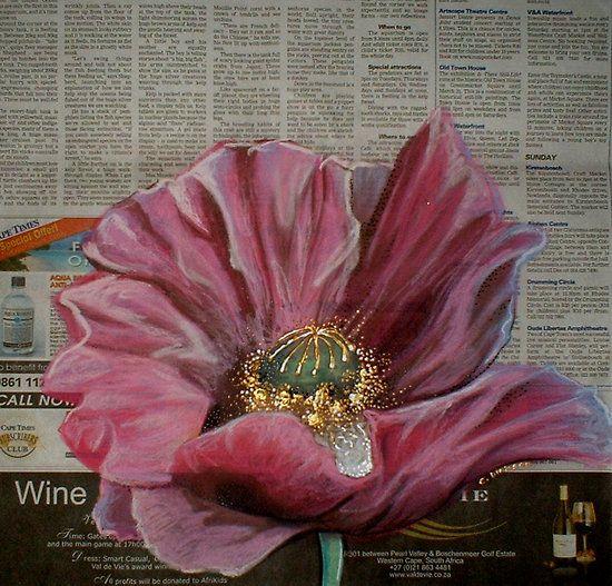 Pink Poppy by Cherie Roe Dirksen