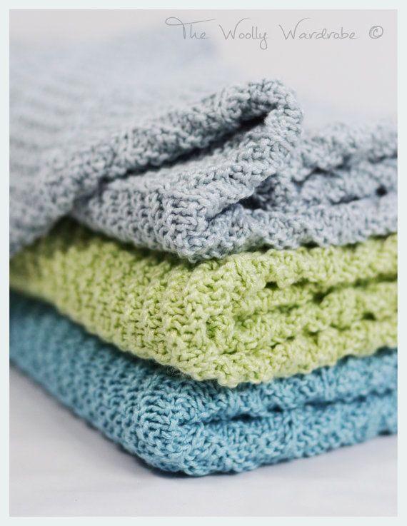 KNITTING PATTERN - Bambi Baby Blanket | knitting | Pinterest