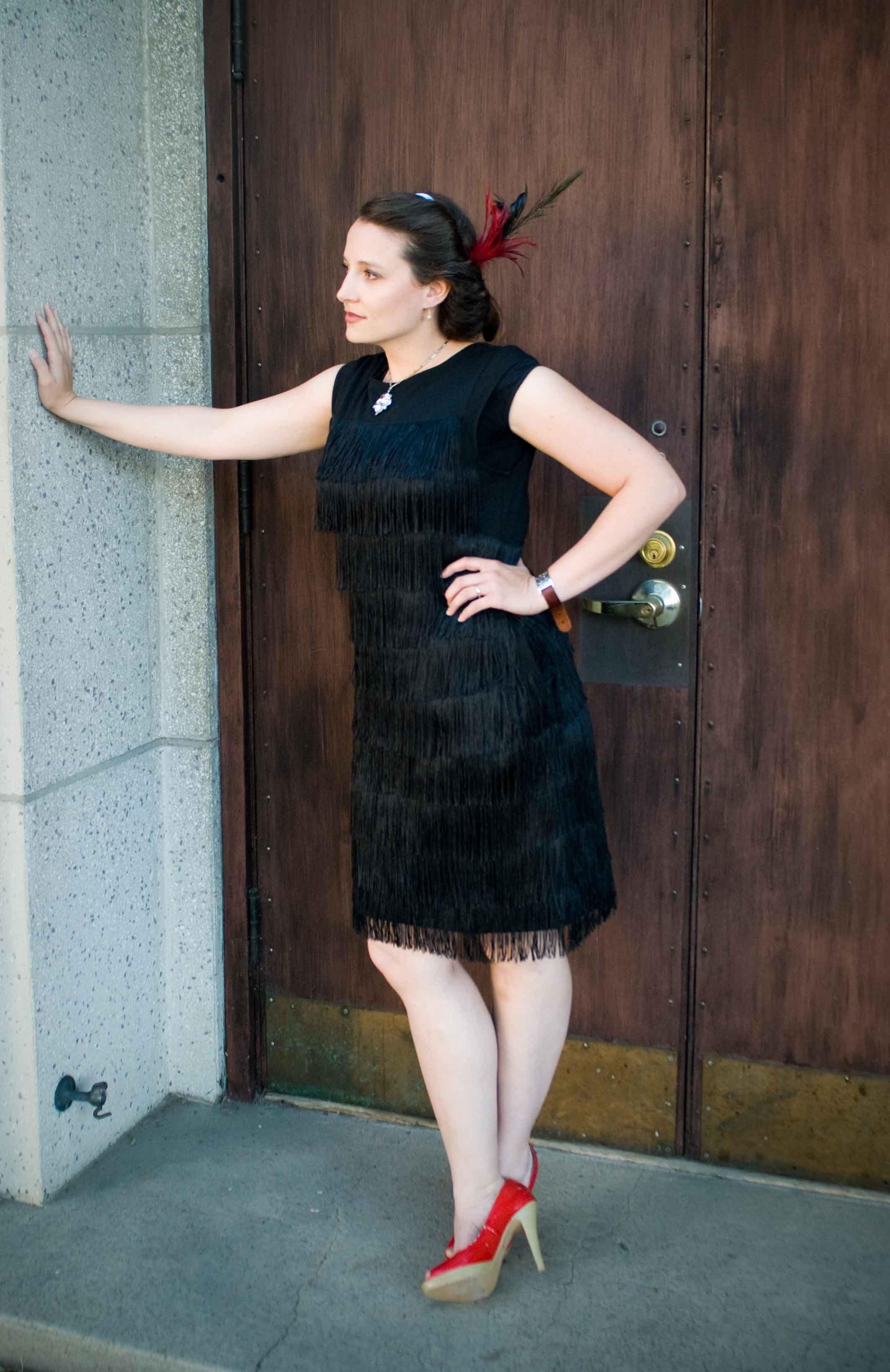 Fringe Flapper Dress Pattern