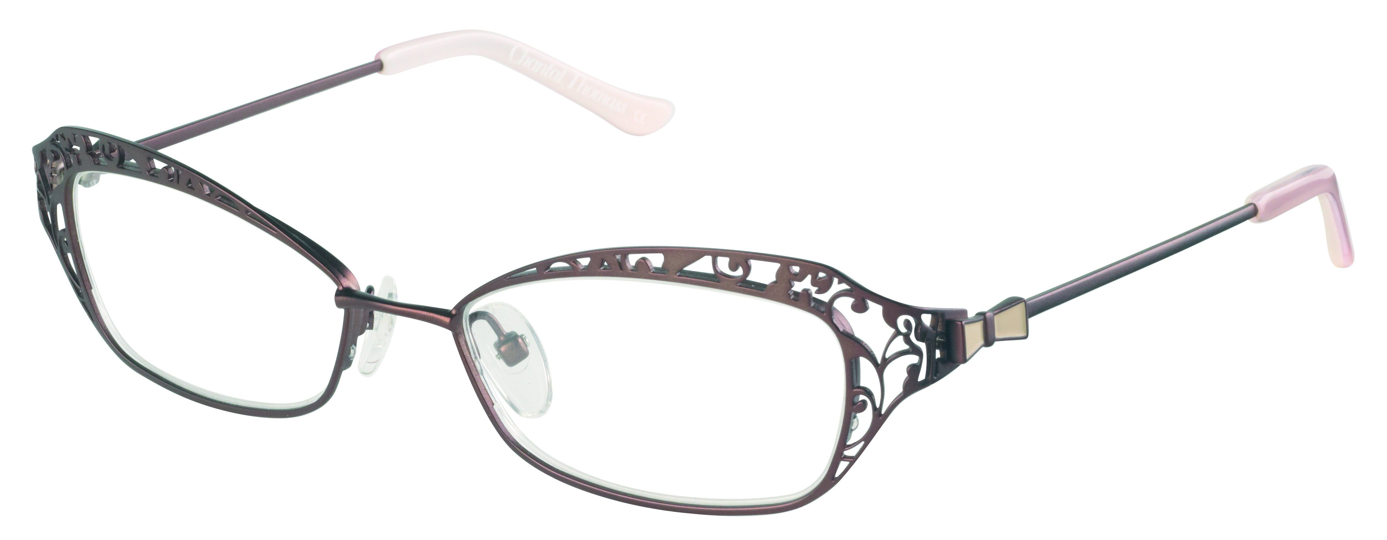 0f082135f9 The Chantal Thomass eyeglasses CT14024 by Eastern States Eyewear is a metal  designer frame. Most designer frames come with an authentic case.
