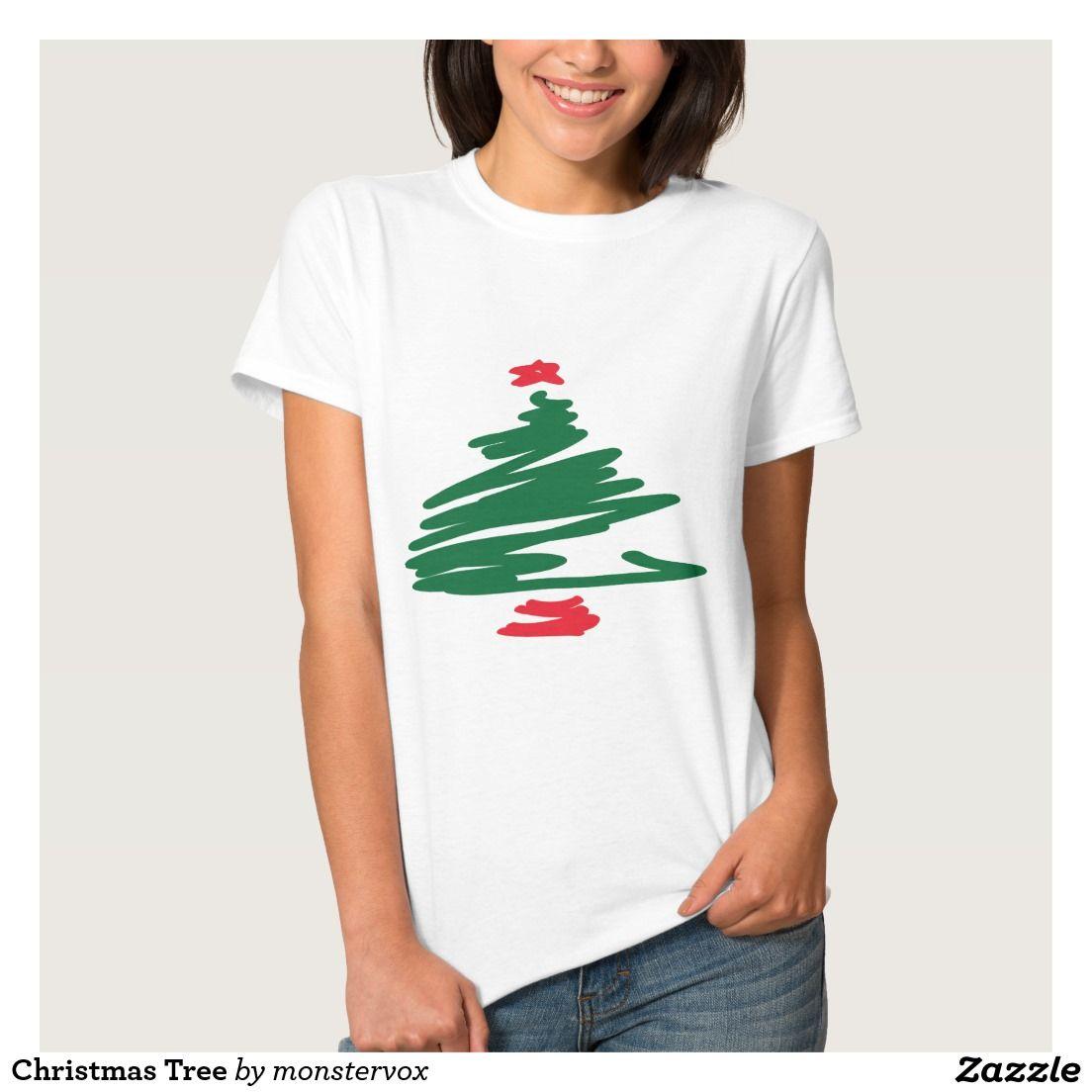 Christmas Tree T-Shirt   Christmas tree, Fashion shirts and ...