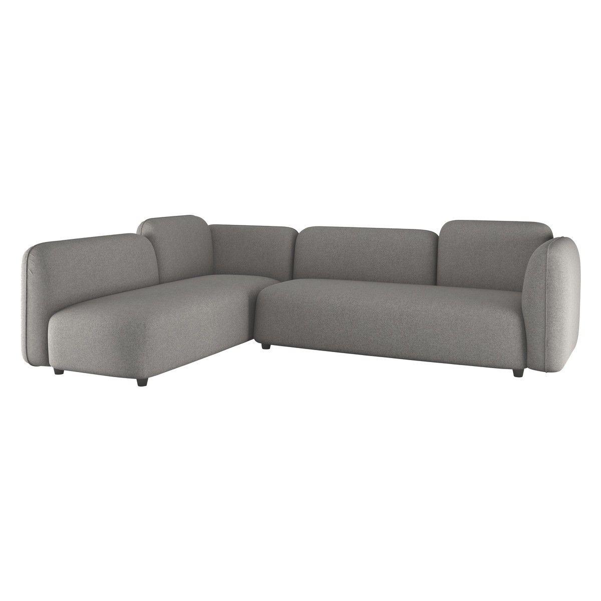 Habitat  Living Room  Chaise sofa Sofa Leather sofa