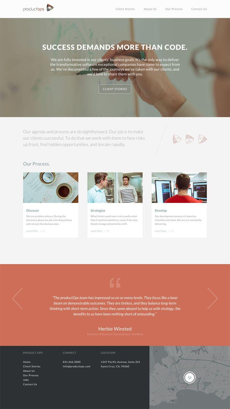 Productops Http Www Fltdsgn Com In 2020 Web Design Web Development Design Small Business Web Design