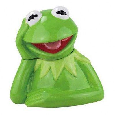 Muppets Kermit The Frog Cookie Jar