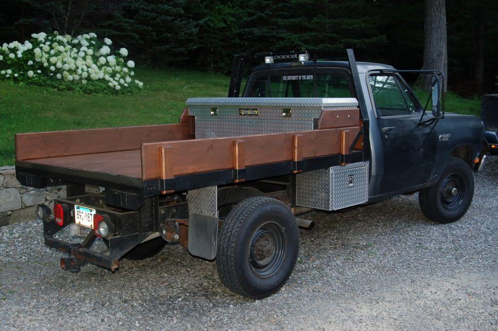 Building A Flat Bed Dodge Ram Ramcharger Cummins Jeep