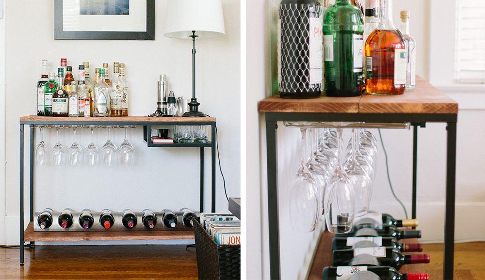 barwagen selber bauen barwagen ikea hacks und design blog. Black Bedroom Furniture Sets. Home Design Ideas