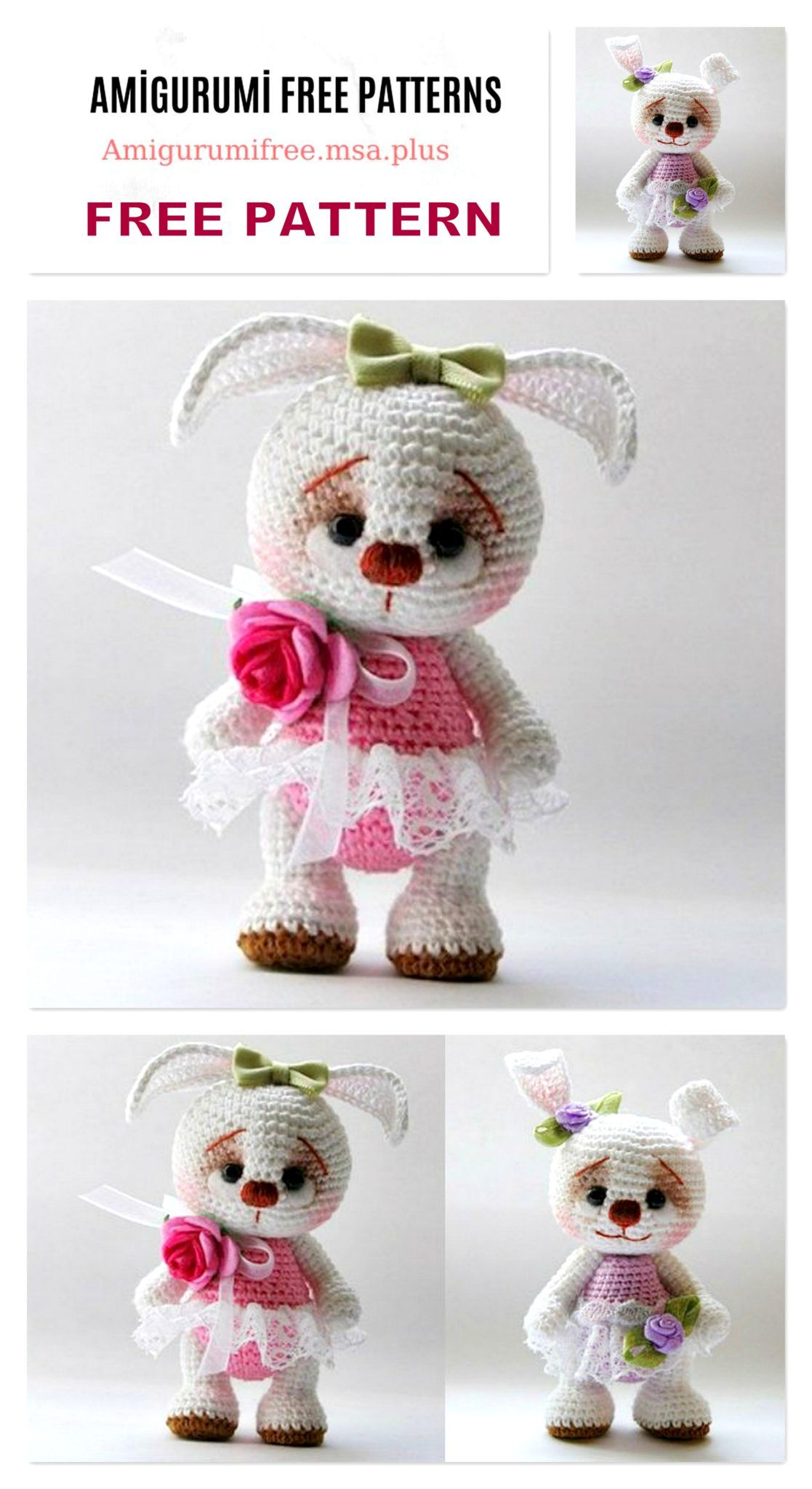 Bunny Crochet Free Pattern You Will Love This Collection | 2048x1117