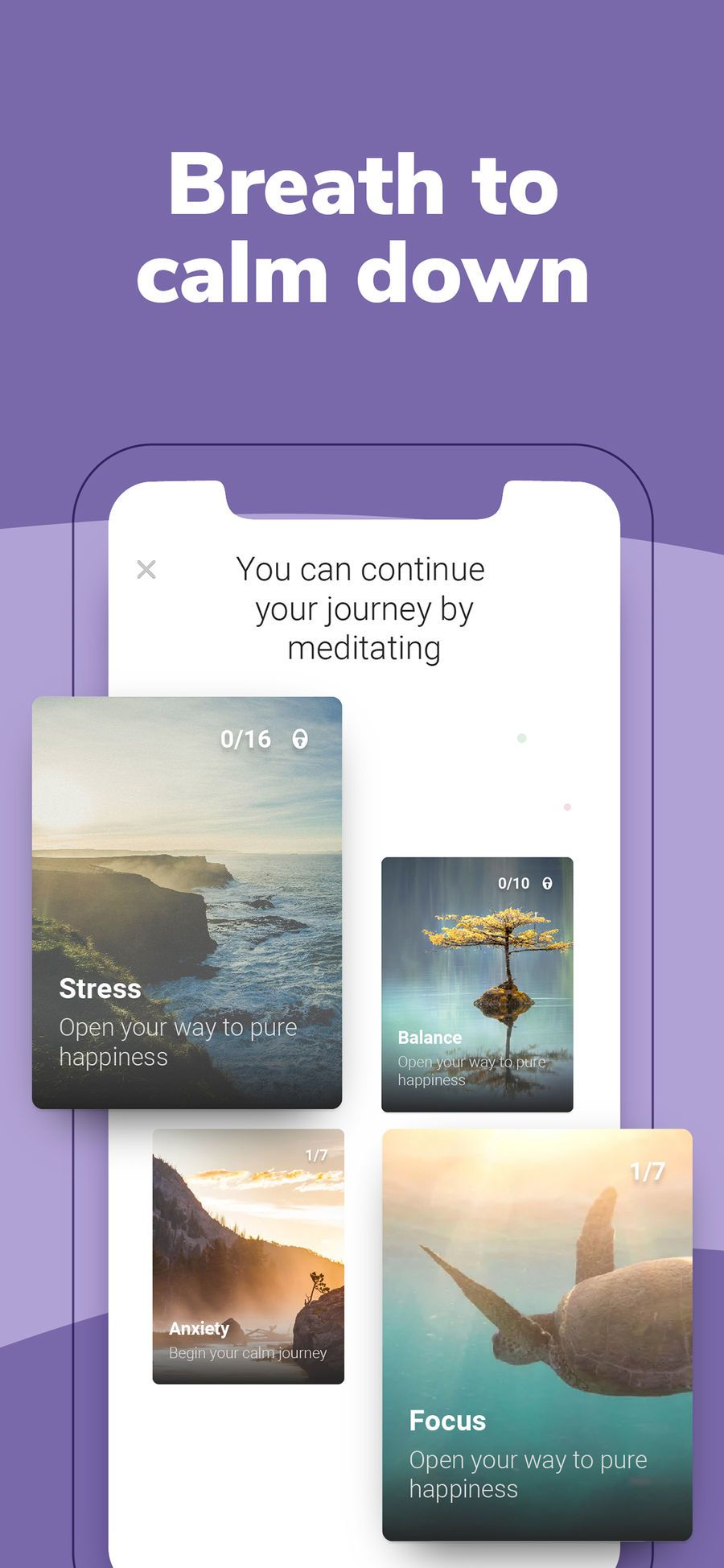 ‎BetterMe Calm,Sleep,Meditate on the App Store