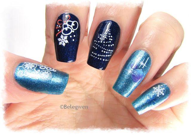 Nail Art by Belegwen: christmas  #nail #nails #nailart