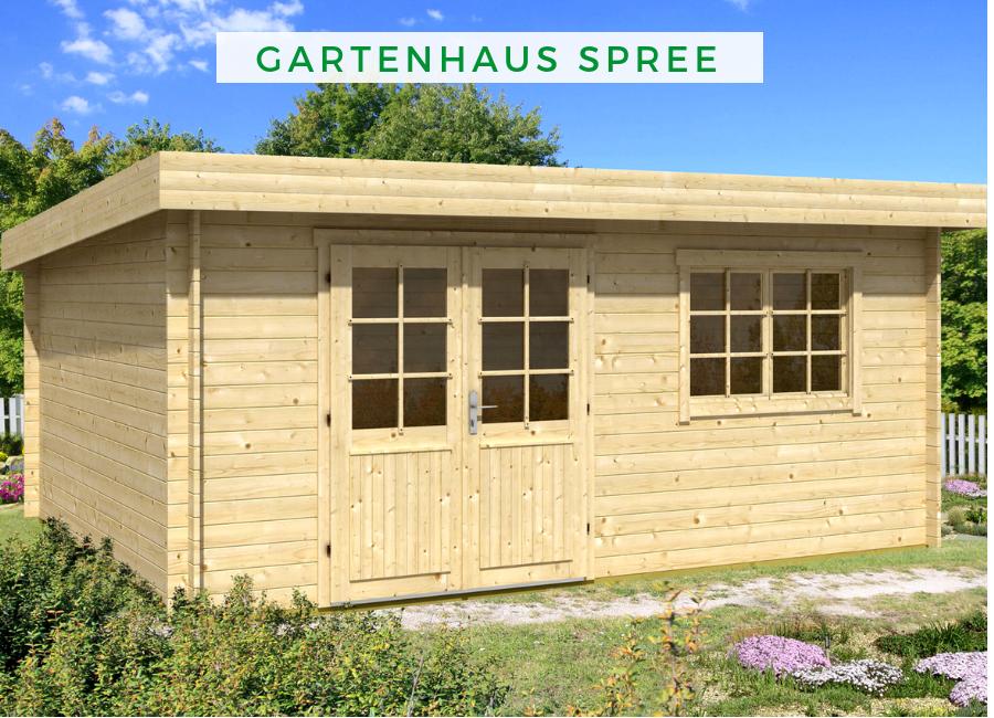 Hervorragend Gartenhaus Spree-28 B   Gartenhaus mit Pultdach   Gartenhaus KX01