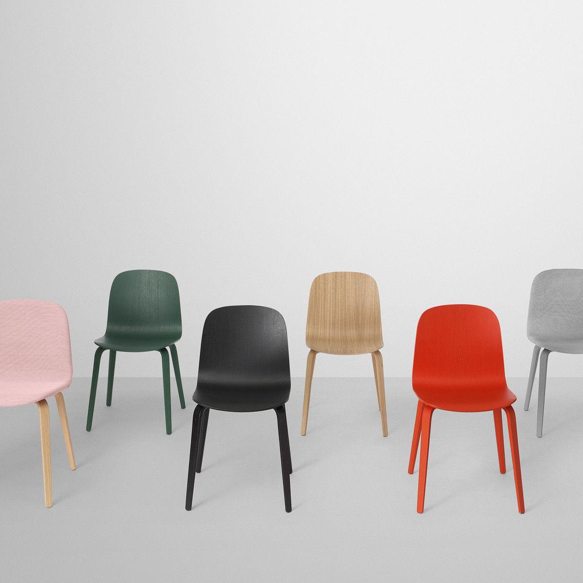 Nordisches Wohndesign: Muuto - Visu Chair, Oak / Oak