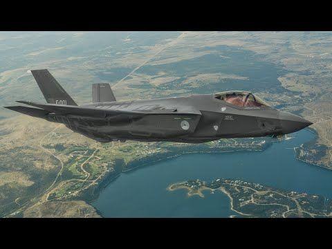 Primeur: F-35 landt in Nederland! - YouTube